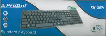 Picture of Prodot Wired USB Standard Keyboard (Bkack)