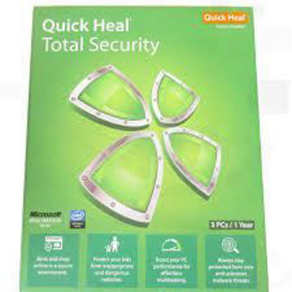 Picture of Quick Heal Total Security-3 User, 1 Year