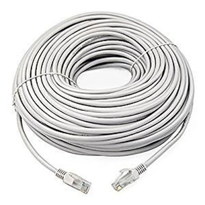 Picture of Quantum Ethernet Patch Cord CAT5 RJ45 Lan Straight Cable Category 5E - 100M meter