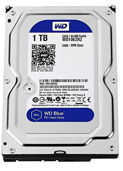 Picture of WD Blue 1TB Internal Desktop 3.5 Inch Hard Drive