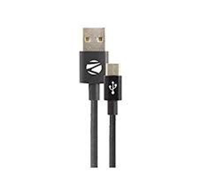 Picture of Zebronics UMC100 B Micro USB data cable charger for all android mobile phones Samsung, Nokia, LG, Lenovo, Xiaomi, HTC, Sony, Micromax, Motorola