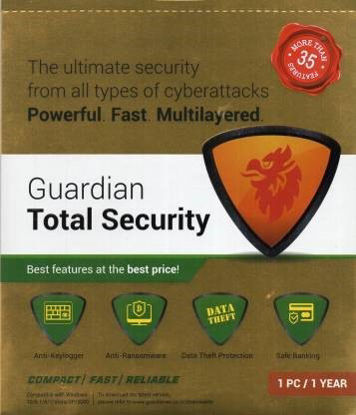 Picture of Guardian total Total Security 1 User 1 Year