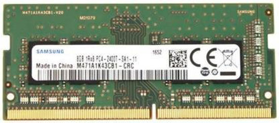 Picture of Samsung 1Rx8 PC4-2400T DDR4 8 GB (Single Channel) Laptop SDRAM (M471A1K43CB1-CRC