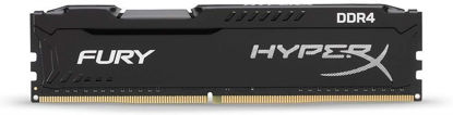 Picture of HyperX Fury Black 8 GB CL15 DIMM DDR4 2400 MT/s Internal Memory (HX424C15FB2/8) PC