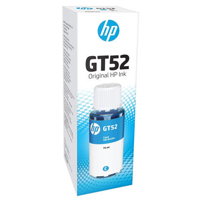 Picture of HP GT52 Ink Bottle (Cyan)