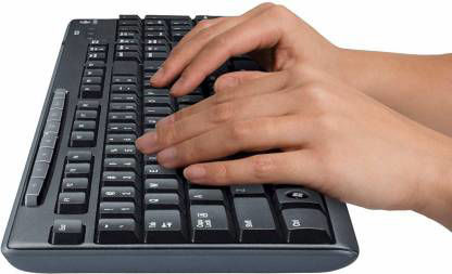 Picture of Logitech Media Combo MK200 Full-Size Keyboard and High-Definition Optical Mouse