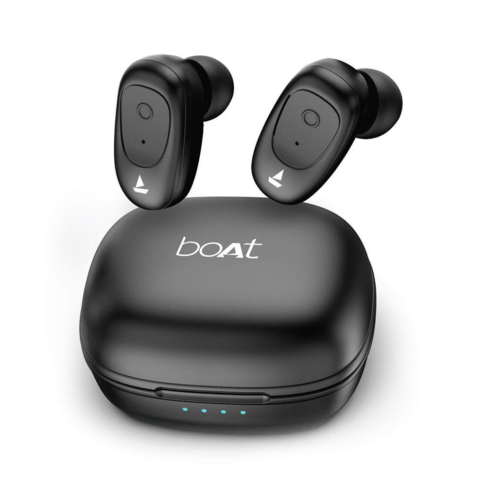 Picture of BOAT Airdopes 203 True Wireless Bluetooth Earphone, Bluetooth  Black