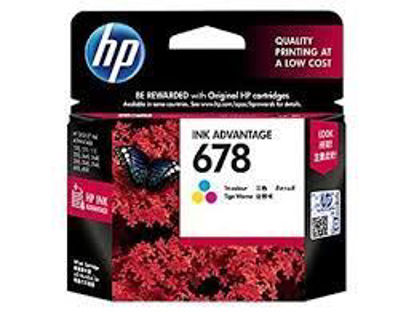 Picture of HP 678 Tri-color Ink Cartridge