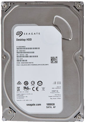 Picture of Seagate Barracuda 1TB Desktop SATA Internal Hard Drive