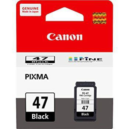 Picture of Canon Pixma PG47 Ink Cartridge (Black) Canon 47