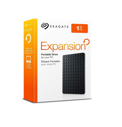 Picture of Seagate 1TB Expansion USB 3.0 Portable 2.5 Inch External Hard Drive for PC, Xbox One and Playstation 4