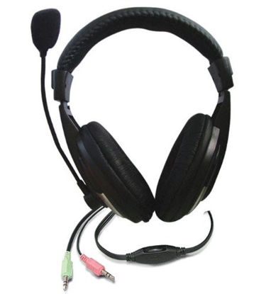 Picture of Zebronics ZEB-100HMV Headphone with Mic and Volume Control (Black)