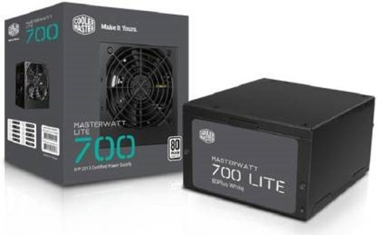 Picture of Cooler Master mpx7001 acabw in on 700 Watts PSU  (Black)