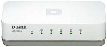 Picture of DLink DES 1005A 5 Port 10/100 Switch
