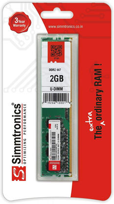 Picture of Simmtronics SIMMDDR2-9 2GB 667 MHz DDR2 Desktop RAM