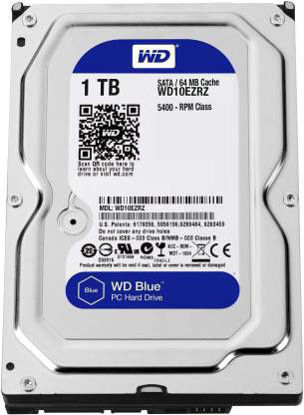Picture of Western Digital SATA 1 TB Desktop Internal Hard Disk Drive