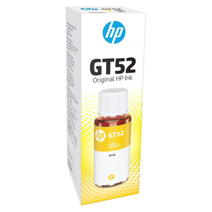 Picture of HP GT52 Ink Bottle (Yellow)