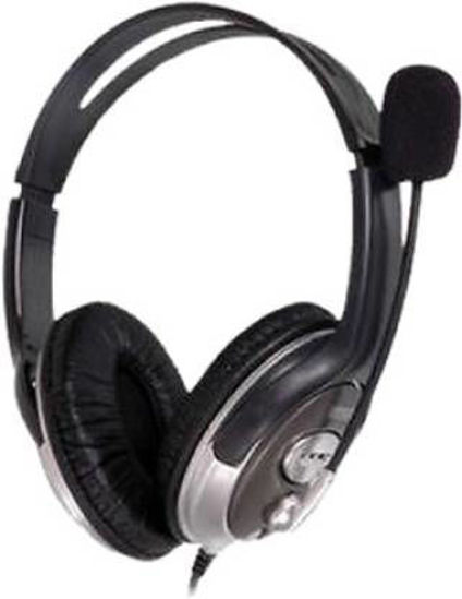 Picture of HP B4B09PA Wired Headset  (Black, On the Ear)